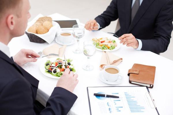 """Business Dining Etiquette - """"Shop Talk"""""""