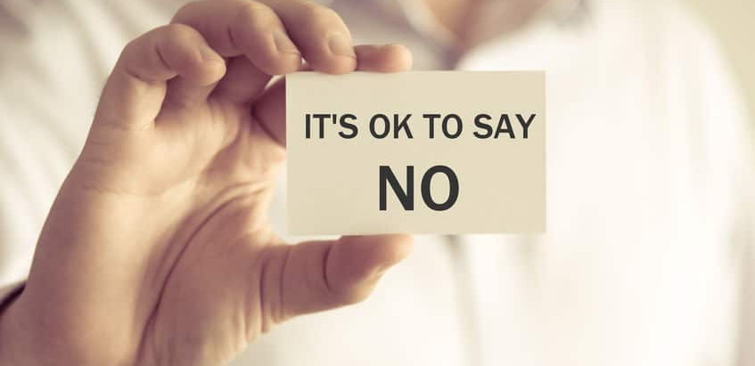 """How to Politely Say """"No"""""""