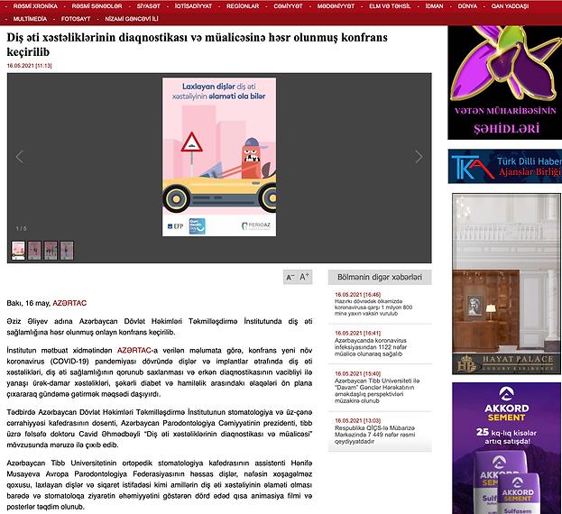 Diş Əti Sağlamlığı Günü 2021 AZERTAC.png