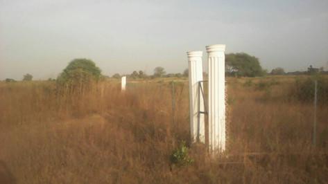 New Community Garden Gate