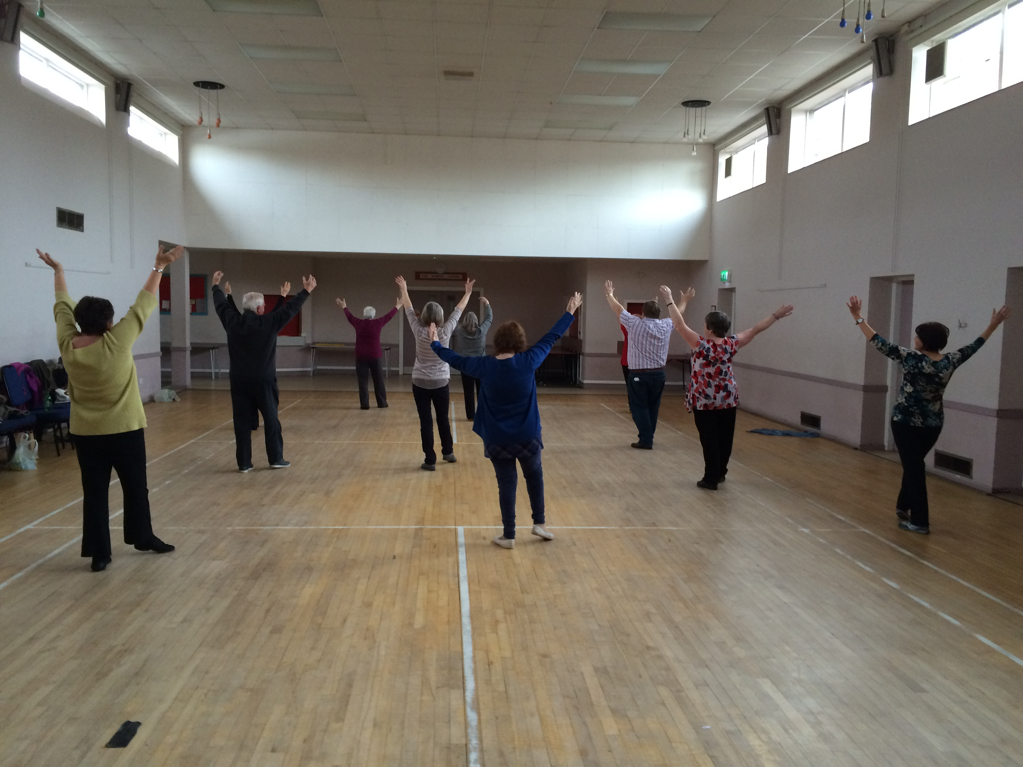 Over 50's dance class