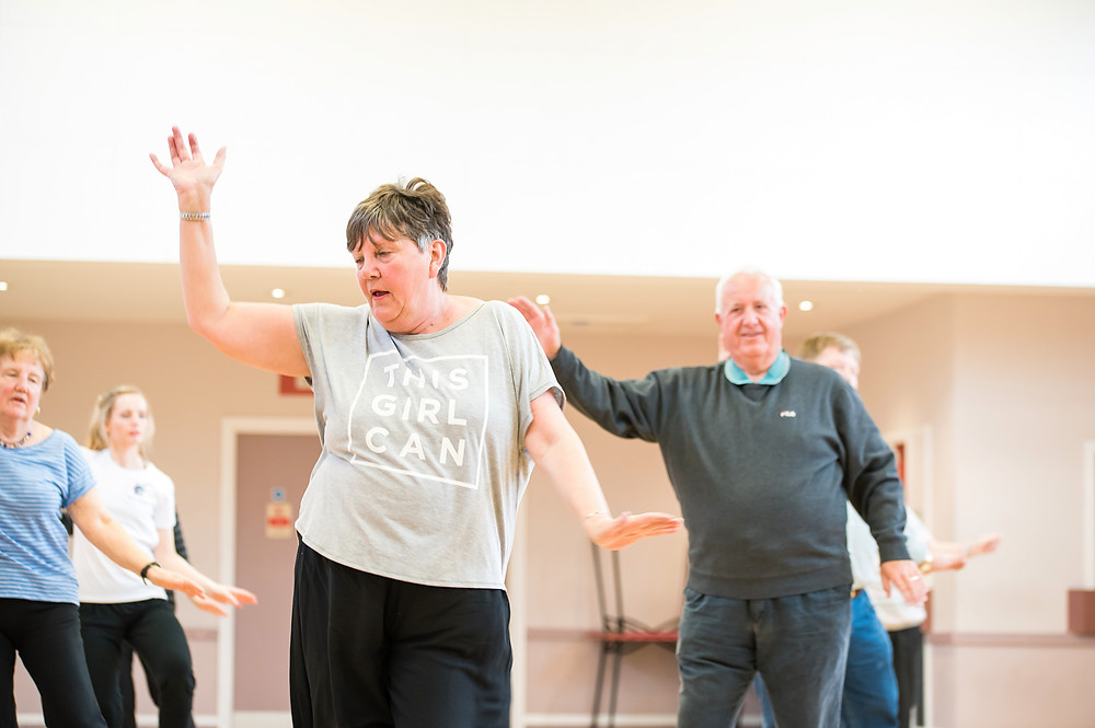Dance classes for over 50s West Midlands