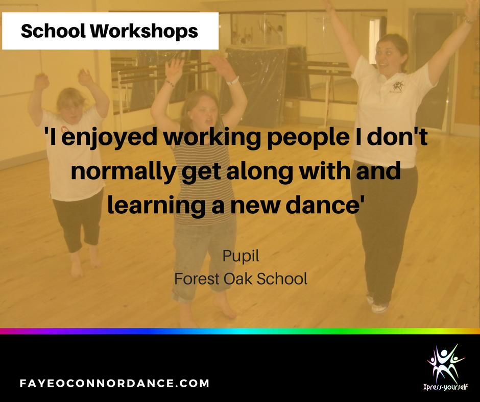 Dance workshops for schools