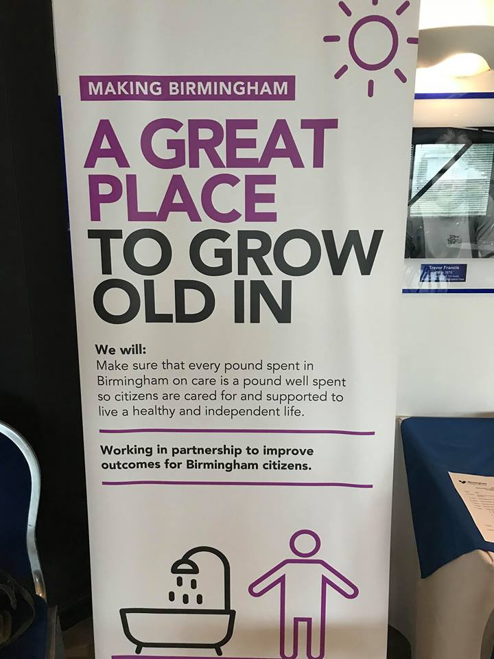 Ageing well in Birmingham Event