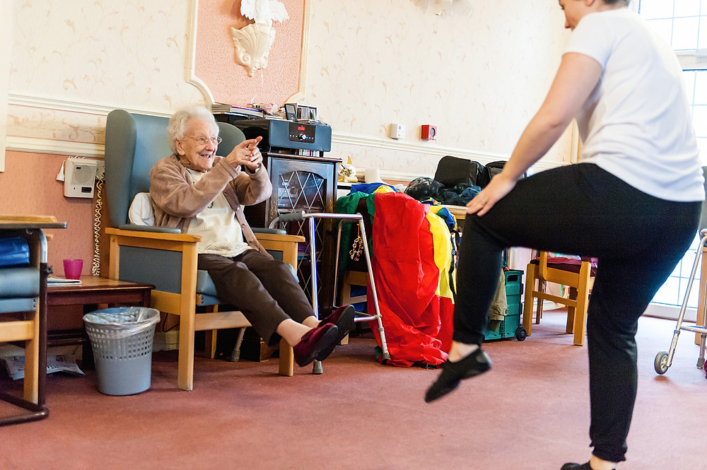Care home activities West Midlands