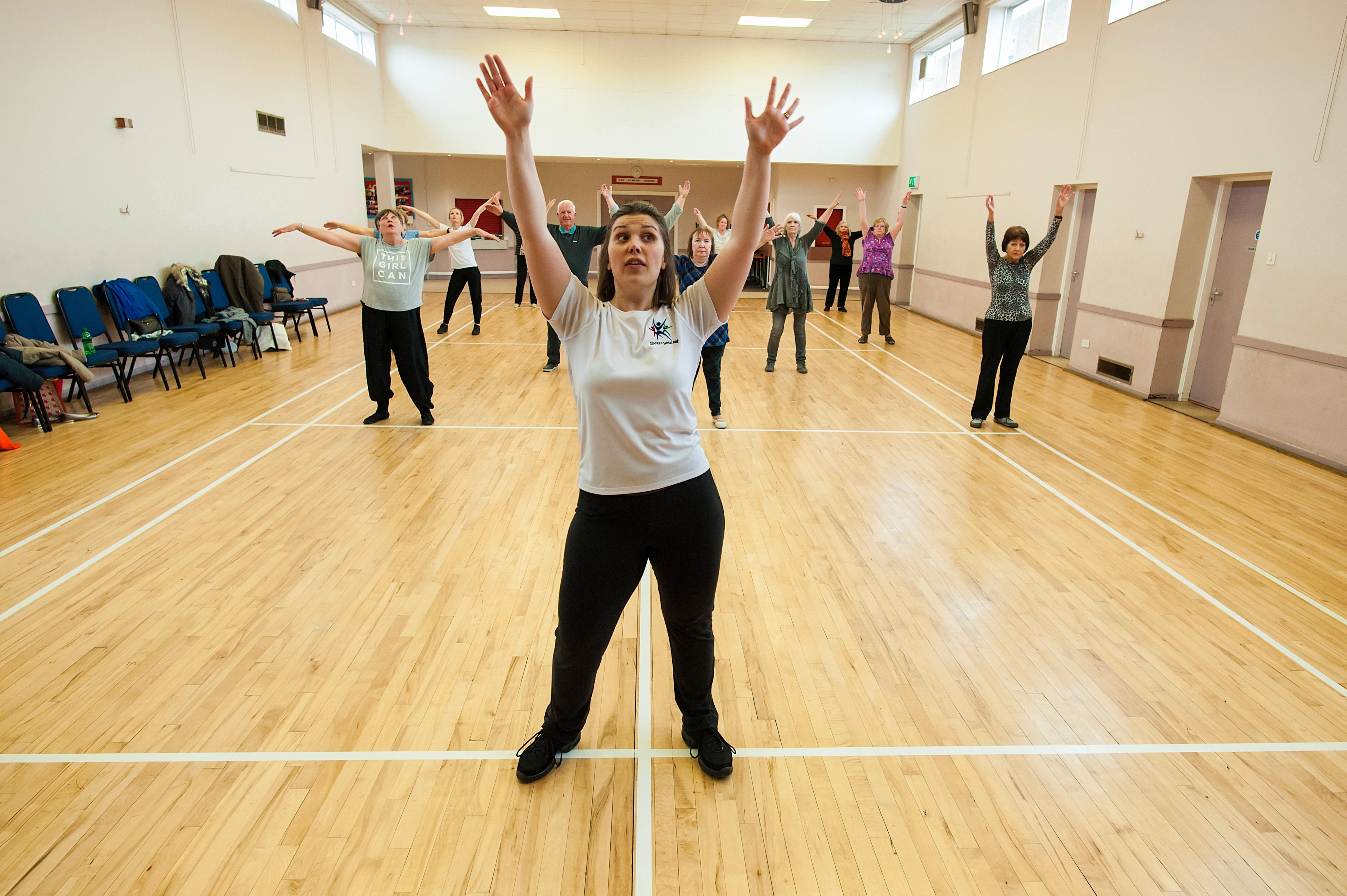 Over 60s dance class West Midlands