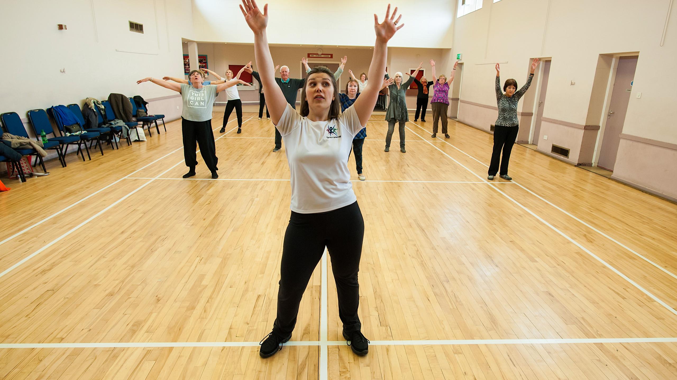 Keep Dancing Older adults dance clas