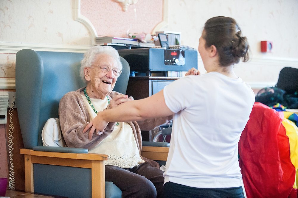 Dance in care homes