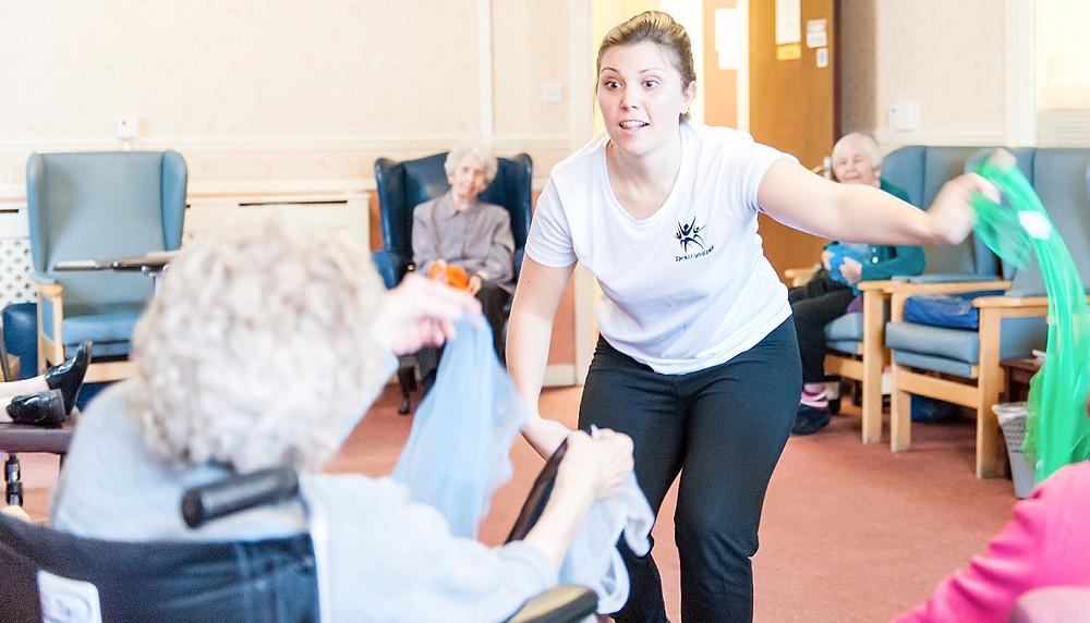 Care home activities West Midlands