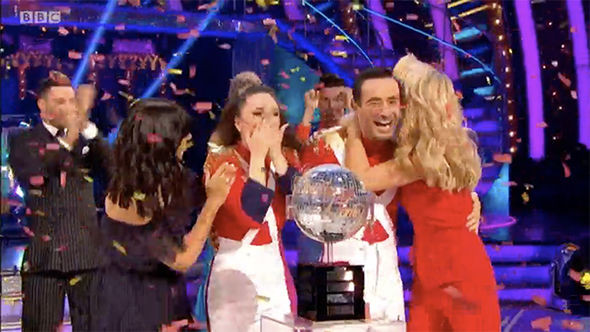 Joe McFadden Strictly Come Dancing Winner