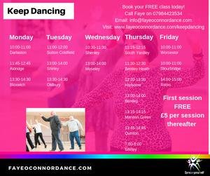 Older adults dance, West Midlands