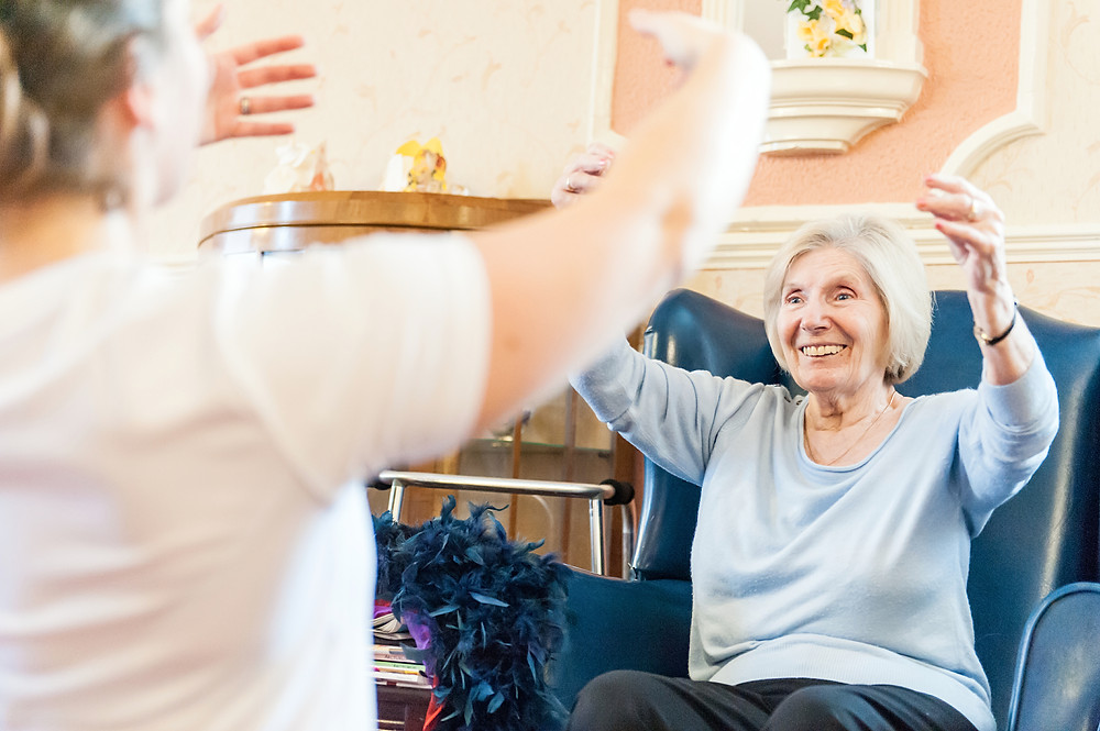 Care home Entertainment West Midlands