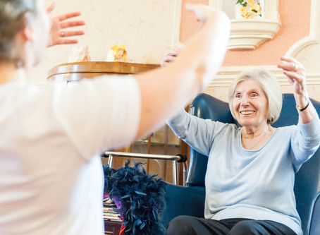 Why Care Homes should be Dancing
