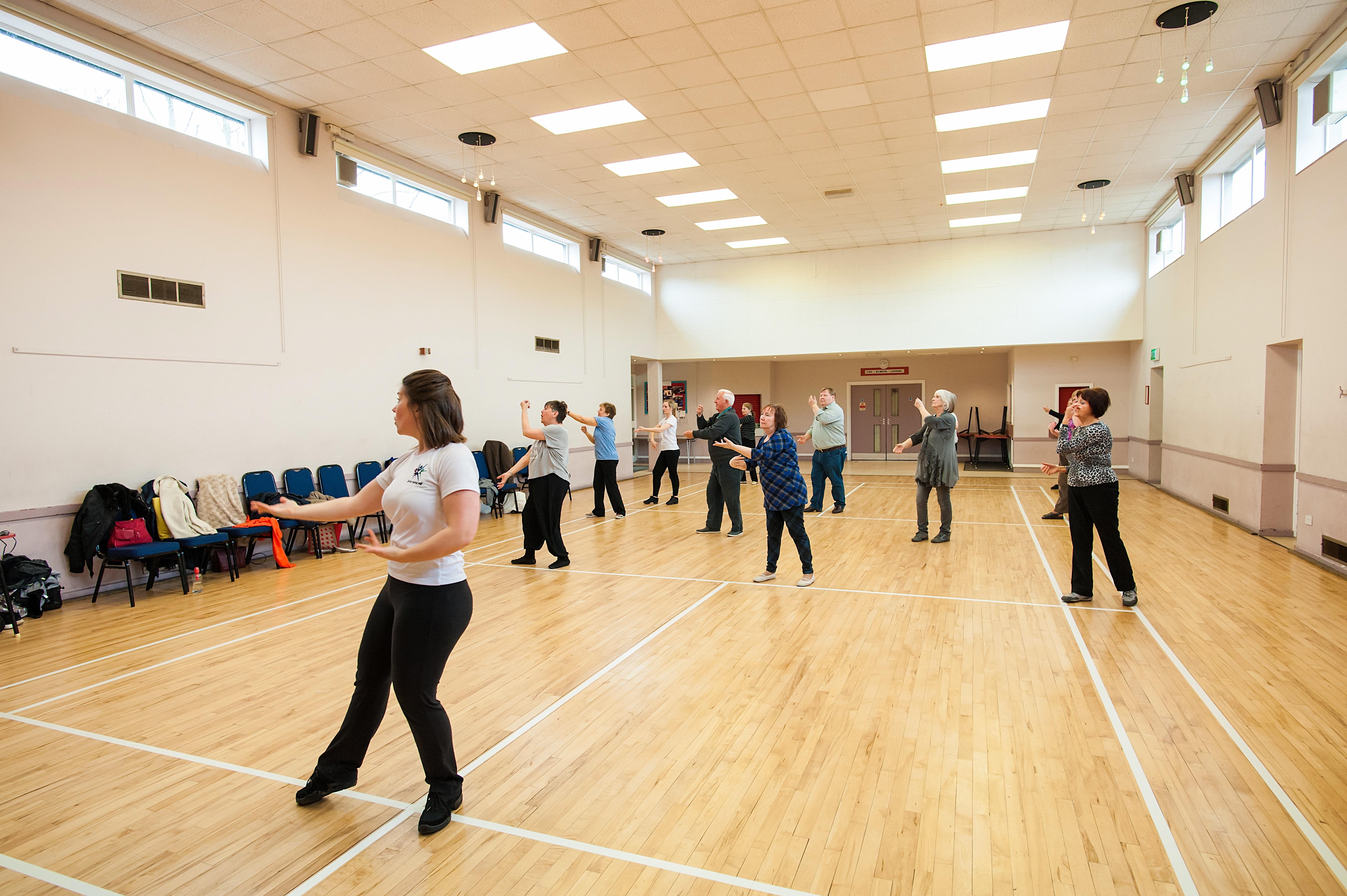Over 50's dance class West Midlands