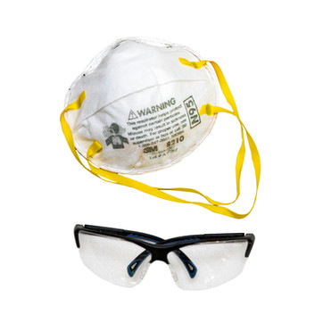 Safety Glasses, Face Mask