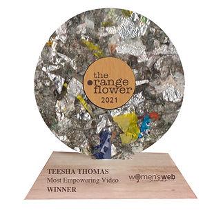 Orange Flower Award 2021-Dopolgy for Wom