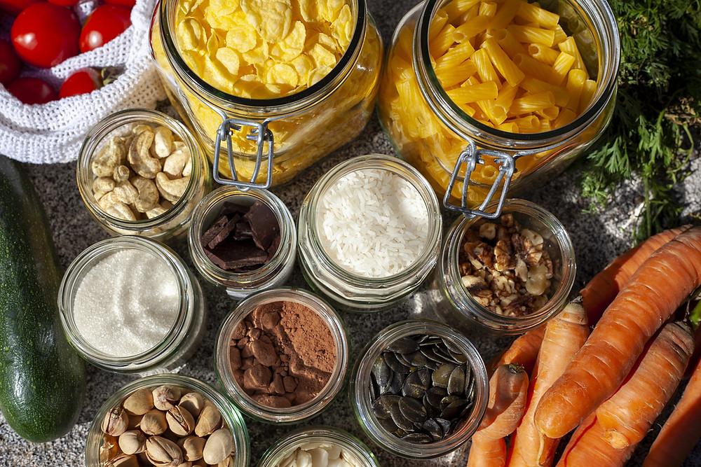 Image Source : https://pixabay.com/photos/zero-waste-vegan-unpacked-food-4844683
