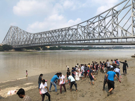 River Ganga Clean-up Drive - One Ghat At A Time