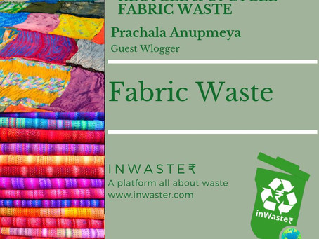 Lets Upcycle Fabric Waste