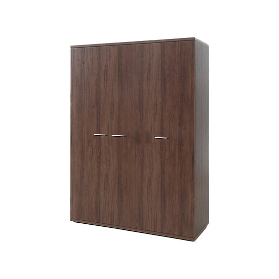 Halle Walnut 3 Door Wardrobe