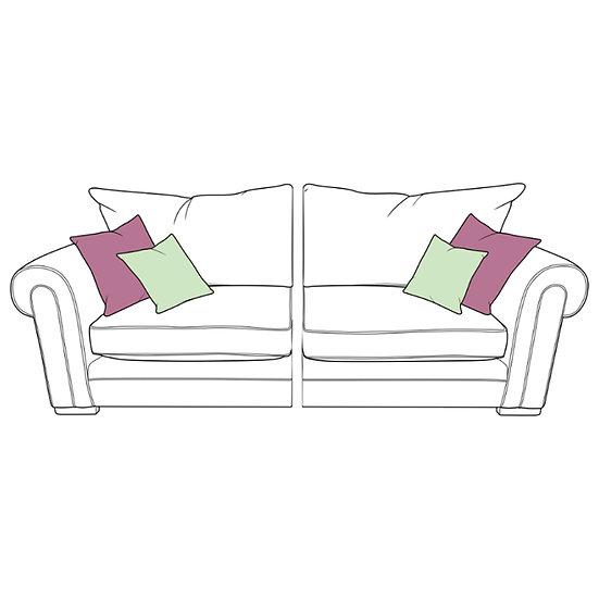 Torworth Large Spilt Standard Back Sofa