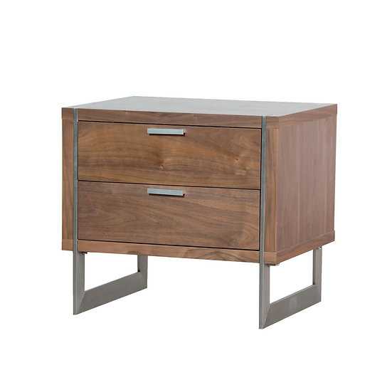 Moreno 2 Drawer Bedside