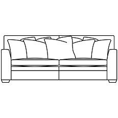 GREENWICH GRAND SOFA (Scatter Back)