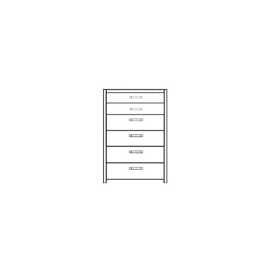Novasol 6 Drawer Tall Chest