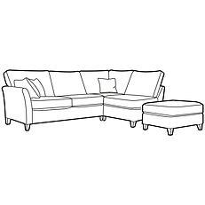 LYNTON CORNER GROUP RHF (optional stool)
