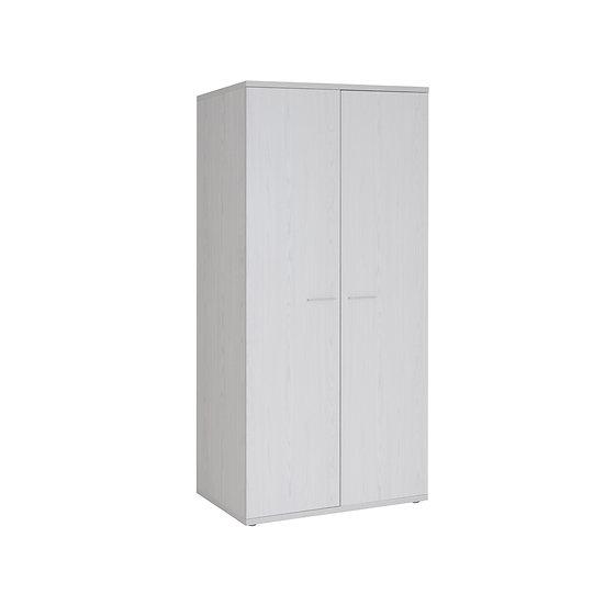 Halle Light Oak 2 Door Wardrobe