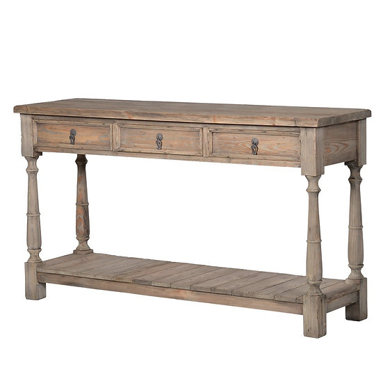 Cleveland 3 Drawer Console