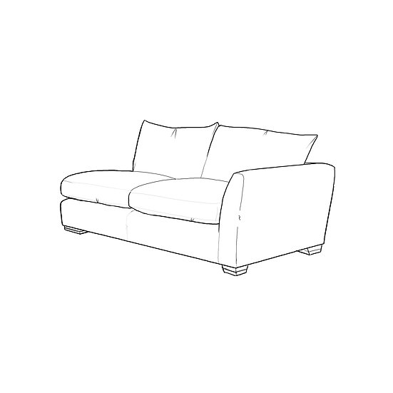 Marino 1 Arm Sofa RHF