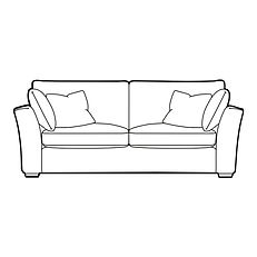 MERIDIEN LARGE SOFA