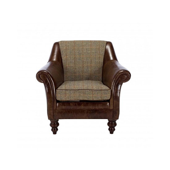 Dalmore Accent Chair (Tweed)