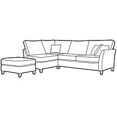 LYNTON CORNER GROUP LHF (optional stool)