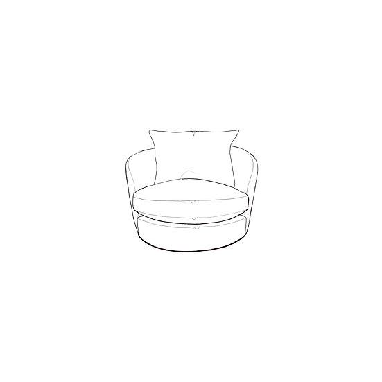 Marino Midi Swivel Chair