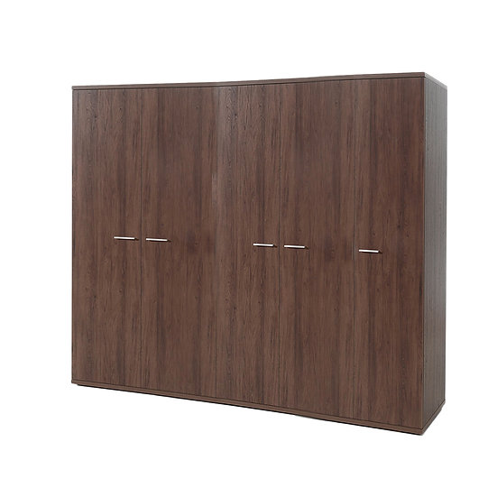 Halle Walnut 5 Door Wardrobe