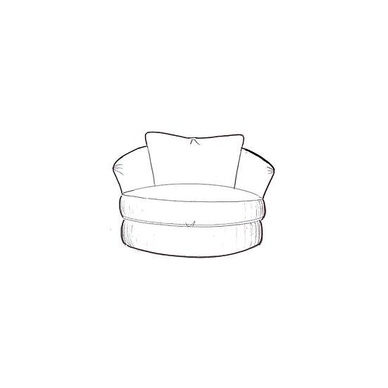 Marino Snuggler Swivel Chair