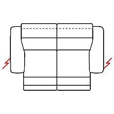 MEGAN 218cm SOFA POWER RECLINE TWIN