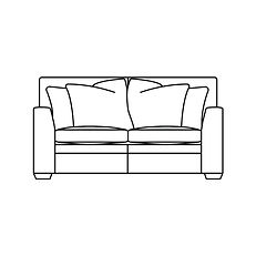 GREENWICH SMALL SOFA (Scatter Back)