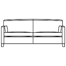 HOYLAND LARGE SOFA