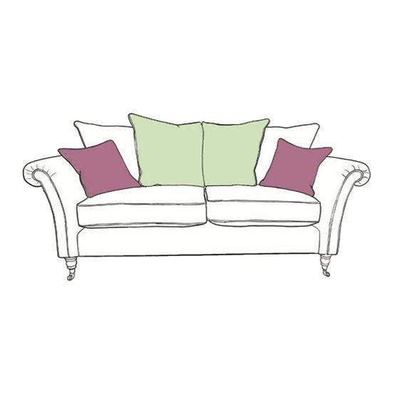 Chatsworth Large Sofa Pillow Back
