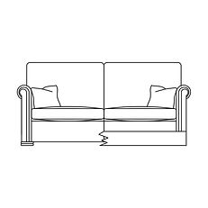 WALDORF 2.5 SEATER SOFA
