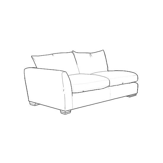 Marino 1 Arm Sofa LHF