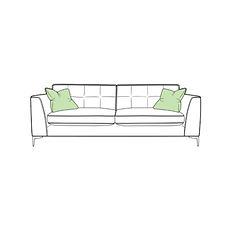 Lugano Extra Large Sofa