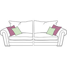TORWORTH XL SPLIT STANDARD BACK SOFA