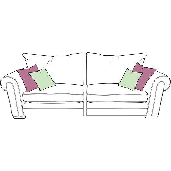 Torworth XL Spilt Standard Back Sofa