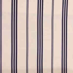 Merrion Stripe Navy Spectator