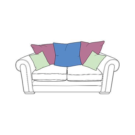 Torworth Small Split Pillow Back