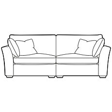 MERIDIEN EXTRA LARGE SPLIT SOFA